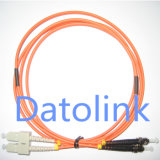 LC/UPC-LC/UPC mm Om3 Cable dúplex