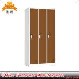 Jas-026 de het verticale 3-deur Kabinet van de Kast van de Opslag van het Metaal/Kast van het Staal