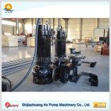 Pompe de dragage de sable submersible à fort débit de basse pression