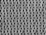 Il tipo normale di nodo orla il fabbricato di tessuto equilibrato composto