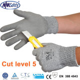 Nmsafety DMFはPUによって塗られる切口抵抗力がある作業安全手袋を放す