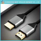 Hoge snelheid 2.0 Kabel 2160p 4K 3D HDMI met HDMI V1.4