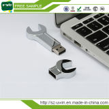 De Aandrijving van de Pen van Shap 4GB USB van de moersleutel met Vrij Embleem