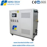 水は工業用水チラー(HTI-3W、HTI-5W、HTI-6W)を冷却しました