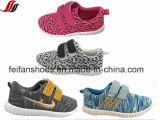 Спорт ботинок холстины впрыски детей обувает ботинки обуви ткани