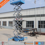 O móbil hidráulico elétrico de China Scissor o elevador para a manutenção da lâmpada de rua