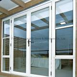 L'isolation thermique en verre trempé Portes en aluminium (FT-D80)