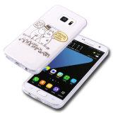 per la cassa mobile del telefono delle cellule Iml del coperchio su ordinazione del reticolo di Samsung