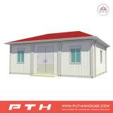 Huis van de Container van de Norm van ISO het Geprefabriceerde met Slaapkamer, Badkamers en Keuken