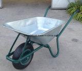 Carrinho de mão de roda de dobramento do trole do transporte do Wheelbarrow Wb6309 do vagão