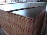 Plwood hecho frente película, madera contrachapada de la construcción, película antirresbaladiza hizo frente a la madera contrachapada, madera contrachapada comercial,