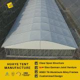 Barracas do partido de Arcum da alta qualidade com telhado e a parede de vidro curvados