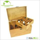 خيزران [إك-فريندلي] مستهلكة قابل للتفسّخ حيويّا أو خشبيّة خمر صندوق