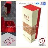 De China Elegante Bonito Embalaje plegable Vino Caja de cartón