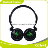 Cool LED Lighting Flash Power Bass Grande Soundstage Portable Comfortable Wear Headband Cartão SD Leve fone de ouvido Bluetooth