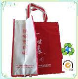 Saco não tecido personalizado para o saco não tecido de empacotamento da promoção do Tote do saco da promoção