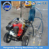 Machine manuelle de marquage routier de poteaux de signalisation