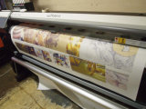 Classic Fast Dry Anti-Curled 100gr 2.4m 326feet Sublimation Transfer Paper para impressoras a jato de jato grande