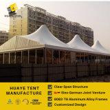 Пик Huaye 10X30m высокий шатер рамки с стеклянными стенами (hy035b)