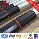 Полигональный битум муниципальные стальные материальные Poles с перекрестной рукояткой