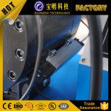 Машина соединений трубы CNC быстро инструмента изменения автоматическая резиновый отжимая