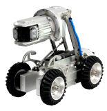 Канализационных трубопроводов слива инспекционной гусеничный робот для 200-1000мм диаметр трубы - 120 м колеса