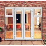 최신 디자인 상업적인 건물을%s 백색 프레임 색깔 UPVC 여닫이 창 문