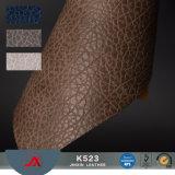 Pele artificial de impressão de couro de PVC