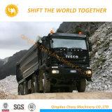 Iveco 6X4 380HPの平屋根の長い45tトラクターのトラック