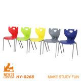 [كلولورفول] بلاستيكيّة مدرسة قاعة الدرس كرسي تثبيت بدون متّكأ