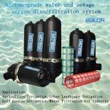 Bsf de type T080T de l'eau de l'écran en acier inoxydable / filtre à sédiments Les sédiments du filtre à tamis à maille plastique