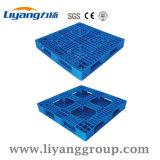 Lytw-1010 Perímetro Total de 1 tonelada de HDPE reciclado de carregamento de paletes de plástico 1000x1000 mm