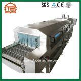 Автоматическая фрукты замятие бумаги // пить сок паровой тоннель пастеризации машины / промывки пастеризатора