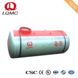 Serbatoio di combustibile sotterraneo doppio d'acciaio rivestito di FRP