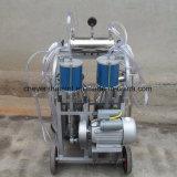 La máquina de ordeño de vaca el motor eléctrico de la cuchara dos SS304