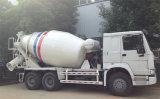 HOWO 10 바퀴 구체 믹서 트럭 6 M3 시멘트 믹서 트럭