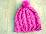 아이들의 형식에 의하여 뜨개질을 한 모자 & 스카프 & 장갑은 겨울 동안 놓았다