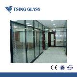 6+6UNE+6 Low-E Doulbe isolés de verre / verre glacé