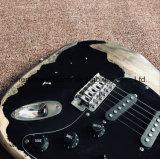 Страт DIY гитара комплекты / Masterbuilt тяжелых реликт St электрическая гитара (GF-22)