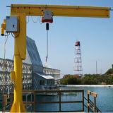 Marinekran mit hydraulischer teleskopischer Hochkonjunktur 1t