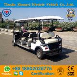Carro de golf eléctrico vendedor caliente de los asientos de Zhongyi 8 para el centro turístico
