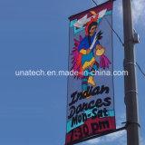 Лампа на улице полюс Media рекламный баннер зажим (BT99)