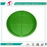 Fibra de vidro de plástico reforçado de gramado Pots Manhole Cover