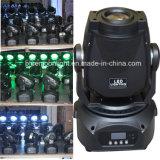 14CH Luminosité LED Spot Light 75W LED Moving Head Stage Lighting