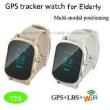 Vigilanza adulta dell'inseguitore di GPS con il SOS ed il video sano T58