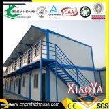 Vorfabriziertes modulares Haus mit Markise und Balkon