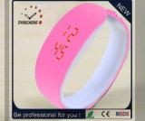Nuevo reloj de la pulsera del Wristband LED de Digitaces del silicón del OEM (DC-1119)