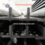 Carril de guía de la buena calidad de T127-1/B para la elevación de mercancías