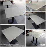 Custom квадратных твердой поверхности в ресторане в таблице (180223)