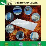 Tablero / hoja de la pared del aislamiento del fuego del silicato del calcio reforzado fibra